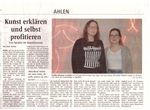 20160107 Ahlener Zeitung Live-Speaker